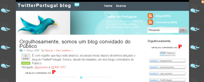 TwitterPortugal Blog