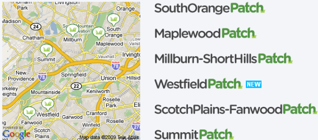 Patch.com combines localized journalism with community contribution